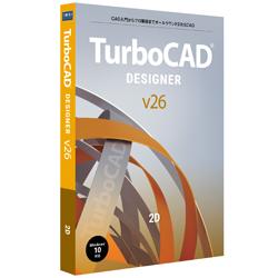 キヤノンITソリューションズ TurboCAD v26 DESIGNER 日本語版  [Windows用] CITSTC26003