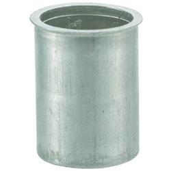 トラスコ中山 クリンプナット薄頭アルミ 板厚2.5 M5X0.8 1000入 TBNF5M25AC TBNF5M25AC