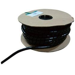 パンドウイット スパイラルラッピング 耐候性ポリプロピレン 黒 T38PC0 T38PC0