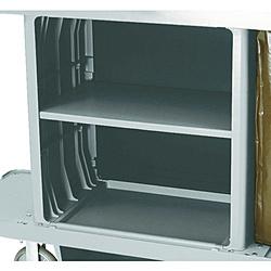 ニューウェルラバーメイド社 ラバーメイド ハウスキーピングカート用中棚キット プラチナ RM6195PT