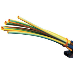 パンドウイット 熱収縮チューブ 標準タイプ イエローグリーン HSTT3848Q45 (1箱25本) HSTT3848Q45