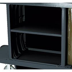 ニューウェルラバーメイド社 ラバーメイド ハウスキーピングカート用中棚キット ブラック RM6195BK