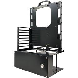 長尾製作所 PCケース N-FRAME-ATX ブラック NFRAMEATX