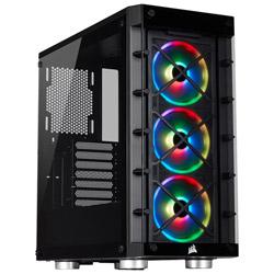 CORSAIR(コルセア) 465X RGB Black CC-9011188-WW (ミドルタワーケース/電源別売り) CC9011188WW
