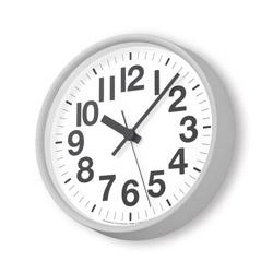 タカタレムノス ナンバーの時計 グレー  YK18-10GY [電波自動受信機能有] YK1810GY