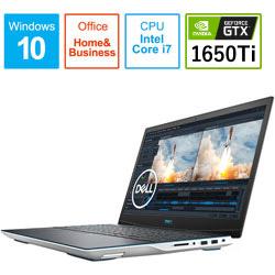 DELL(デル) NG385-ANHBCW ゲーミングノートパソコン New Dell G3 15 ホワイト [15.6型 /intel Core i7 /SSD:512GB /メモリ:16GB /2020年夏モデル] NG385ANHBCW