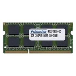 PRINCETON(プリンストン) 増設メモリ ノートブック用  PAN3/1600-4G [SO-DIMM DDR3 /4GB /1枚] PAN316004G