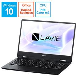 【在庫限り】 NEC(エヌイーシー) モバイルノートPC LAVIE Note Mobile PC-NM350KAB ブラック [Core m3・12.5インチ・Office付き] PCNM350KAB [振込不可]