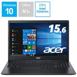Acer(エイサー) ノートパソコン Aspire 3 チャコールブラック A315-34-A14U/K [15.6型 /intel Celeron /SSD:256GB /メモリ:4GB /2020年8月モデル] A31534A14UK