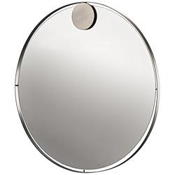 ゾーン Mirror f. wall Hooked On Rings 331814 ステンレス 331814