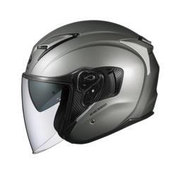 オージーケーカブト EXCEED オープンフェイスヘルメット クールガンメタ Sサイズ(55-56cm) EXCEEDCOGMS