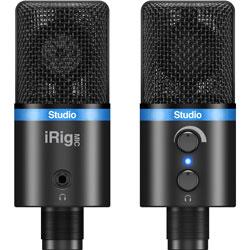 IK Multimedia(アイケーマルチメディア) デジタル・マイクロフォン(ブラック) iRig Mic Studio (IKM-OT-000045) IKMOT000045