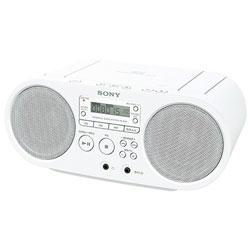 爆安 SONY 高い素材 ソニー CDラジオ ラジオ+CD ホワイト WC ZSS40WC ZS-S40 ワイドFM対応