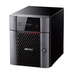 TS3020シリーズ TeraStation BUFFALO(バッファロー) TS3420DN0804 TS3420DN0804 デスクトップ 4ベイ 8TB