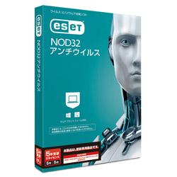 キヤノンITソリューションズ ESET NOD32アンチウイルス 5年5ライセンス 更新    [Win·Mac用] CMJND14050