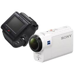 SONY(ソニー) HDR-AS300R アクションカメラ ライブビューリモコンキット [フルハイビジョン対応 /防水+防塵+耐衝撃 /光学式(空間光学方式、アクティブモード搭載)] HDRAS300R