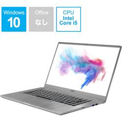 MSI(エムエスアイ) Modern-15-A10RAS-062JP ゲーミングノートパソコン MODERN 15 [15.6型 /intel Core i5 /SSD:256GB /メモリ:8GB /2020年5月モデル] MODERN15A10RAS062JP