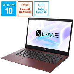 NEC(エヌイーシー) PC-PM550NAR ノートパソコン LAVIE Pro Mobile クラシックボルドー [13.3型 /intel Core i5 /SSD:256GB /メモリ:8GB]