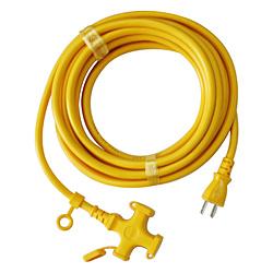 宏和工業 延長コード KM1095 国内正規品 限定価格セール 15A×5mKM109-5キイロ