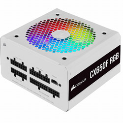 CORSAIR コルセア 捧呈 PC電源 CX650F RGB WHT AL完売しました。 CP9020226JP ATX CP-9020226-JP ホワイト 650W Bronze