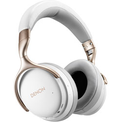 DENON(デノン) ブルートゥースヘッドホン AHGC30WTEM ホワイト [ハイレゾ対応 /マイク対応 /Bluetooth /ノイズキャンセリング対応] AHGC30WTEM