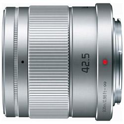 Panasonic(パナソニック) カメラレンズ LUMIX G 42.5mm/F1.7 ASPH./POWER O.I.S.【マイクロフォーサーズマウント】(シルバー) HHS043