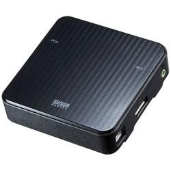 SANWA SUPPLY(サンワサプライ) SW-KVM2WDPU DisplayPort対応手元スイッチ付きパソコン自動切替器 SWKVM2WDPU