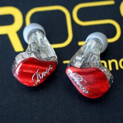 ROSE 耳かけ型イヤホン BR5MK2-RED レッド [φ3.5mm ミニプラグ] BR5MK2