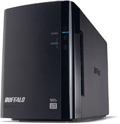 HD-WL2TU3/R1J(ミラーリング機能搭載 BUFFALO(バッファロー) 2TB/2ドライブ) HDWL2TU3R1J USB3.0用外付ハードディスク