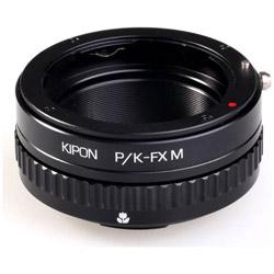 KIPON マウントアダプター PK-FX M【ボディ側:富士フイルムX/レンズ側:ペンタックスK】 PKFXM