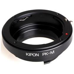 KIPON マウントアダプター P/K-M【ボディ側:ライカM/レンズ側:ペンタックスK】 PKM