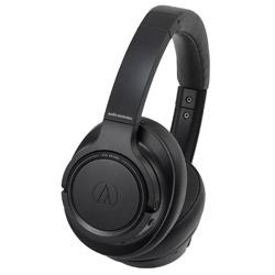 audio-technica(オーディオテクニカ) Sound Reality ブラック ATH-SR50BTBK【リモコン・マイク対応】 ブルートゥースヘッドホン ATHSR50BTBK