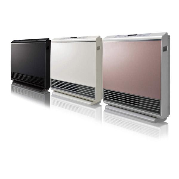 リンナイプラズマクラスター技術搭載ガスファンヒーターA-StyleRC-W4401NP-MBプロパンガスLPG木造12畳/コンクリート造16畳までマットブラックRCW4401NPMB