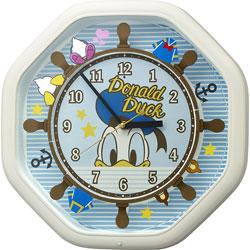 リズム時計 からくり時計 【カラクリトケイM441/ドナルドダック】 4MH441MC03 4MH441MC03
