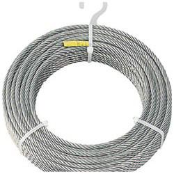 トラスコ中山 ステンレスワイヤロープ Φ6.0mmX30m CWS6S30 CWS6S30