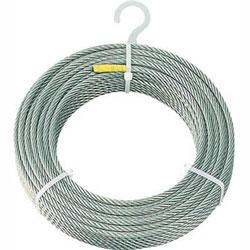 トラスコ中山 CWS-4S100 TRUSCO ステンレスワイヤロープ Φ4mmX100m CWS4S100