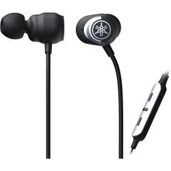 YAMAHA(ヤマハ) bluetooth イヤホン カナル型 ブラック EP-E50AB [リモコン・マイク対応 /ワイヤレス(左右コード) /Bluetooth /ノイズキャンセリング対応] EPE50AB