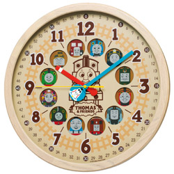 SEIKO 電波掛け時計 きかんしゃトーマス CQ221B トーマス&フレンズ CQ221B