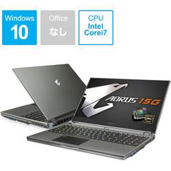 ファッションデザイナー GIGABYTE(ギガバイト) SB-7JP1130MH ゲーミングノートパソコン Core AORUS 15G [15.6型 AORUS/intel Core i7/SSD:512GB/SSD:512GB/メモリ:16GB/2020年5月モデル] AORUS15GSB7JP1130MH [振込], ASTUTE:db72f183 --- bellsrenovation.com