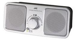 <title>JVCケンウッド SP-A55 S テレビ用ポータブルスピーカー オープニング 大放出セール シルバー SPA55S</title>