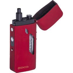 【在庫限り】 アクアバンク ポータブル水素ガス吸引具「KENCOS(ケンコス)」レッド  キャリングケース付き【専用電解液別売り】 KENCOS3-m(RD) KENCOS3mRD [振込不可]
