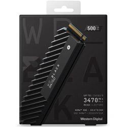 Western Digital WD BLACK SN750 NVMe SSD WDS500G3XHC (SSD/M.2 2280/500GB) WDS500G3XHC