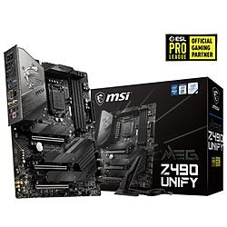 MSI(エムエスアイ) マザーボード MEG Z490 UNIFY  [ATX /LGA1200] MEGZ490UNIFY