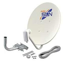 サン電子 4K8K対応BS・110度CSアンテナセット CBD-K045-S [取付金具セット] CBDK045S