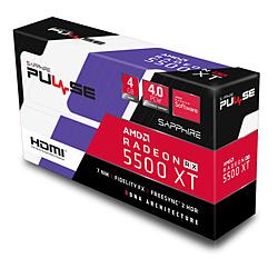 SAPPHIRE(サファイア) グラフィックボード SAP-RX5500XTPULSE4G/11295-03-20G [4GB /Radeon RXシリーズ] SAPRX5500XTPULSE4G