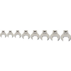 スナップオンツールズ WILLIAMS 3/8ドライブ クローフットレンチ セット(9~16mm) JHW10790 JHW10790
