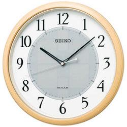 SEIKO ソーラー電波掛け時計 「ソーラープラス」 SF243B SF243B