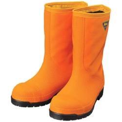 シバタ工業 SHIBATA 冷蔵庫用長靴-40℃ NR031 23.0 オレンジ NR031-23.0 NR031230