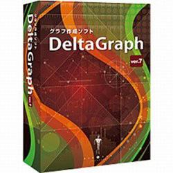日本ポラデジタル 〔Mac版〕 DeltaGraph 7J (デルタグラフ 7J) DELTAGRAPH7JMAC