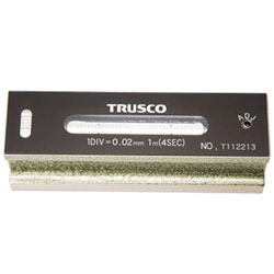 トラスコ中山 平形精密水準器 B級 寸法150 感度0.02 TFLB1502 TFLB1502
